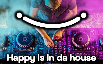 Happy is in da house